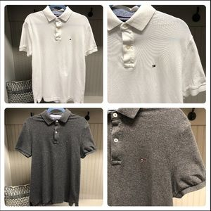 🔸2 NWOT Tommy Hilfiger. M Oxford Pique Polo
